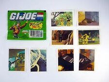 GI JOE STICKERS #9 10 11 21 24 59 172 204 Vintage Collector's Album Decals 1987