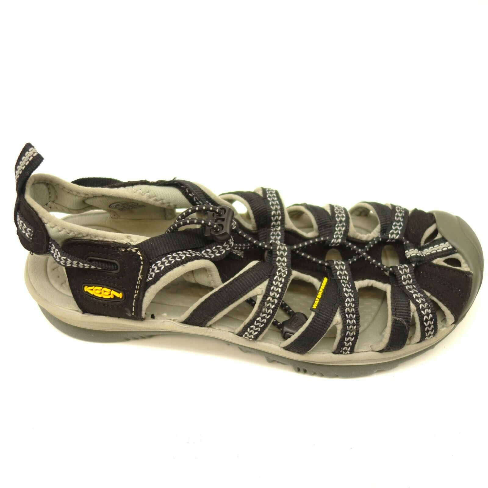 Keen Sport Sandals Whisper US 8 EU 38.5 Bungee Strap Cushioned Womens shoes