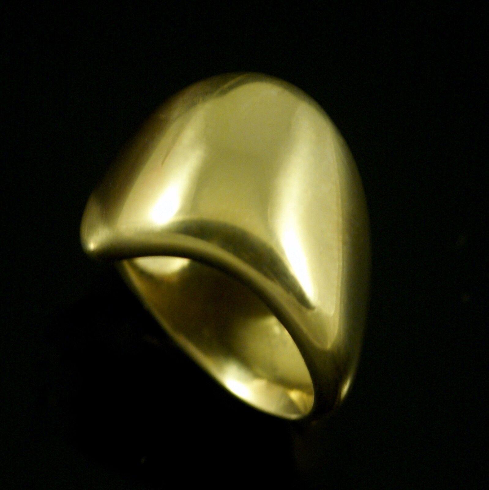 Georg Jensen 18k gold Right Little Finger Ring Minas Spiridis