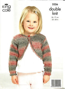 6727f53aa0872a Image is loading KING-COLE-MIRAGE-DOUBLE-KNITTING-PATTERN-GIRLS-ROUND-