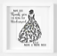 Personalised-Thank-You-For-Being-Our-Bridesmaid-Vinyl-Decal-Sticker-V209 miniatuur 1