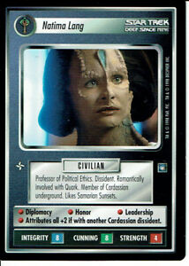 STAR TREK CCG DS9 RARE CARD SORUS