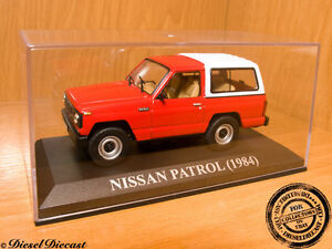 NISSAN-PATROL-RED-WHITE-1984-1-43-WITH-BOX-MINT