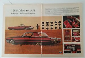 1964-Cadillac-Gold-62-Coupe-black-Fleetwood-60-special-sedan-car-ad