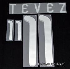Argentina Tevez 11 Coppa del Mondo 2010 Maglietta da calcio nome impostato AWAY Sportive ID