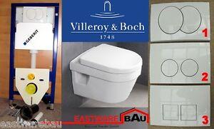 geberit duofix vorwandelement wc sp lrandlos villeroy boch omnia architectura ebay. Black Bedroom Furniture Sets. Home Design Ideas