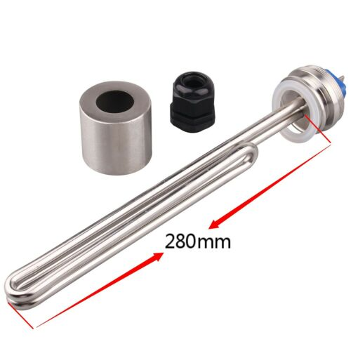 DERNORD Water Heating Element 1.5''Tri-clamp 240v 4500w for Brewing