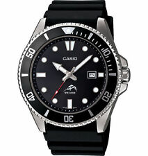 Casio New Original MDV-106-1AV 200M Duro Analog Mens Watch Black MDV-106 MDV106