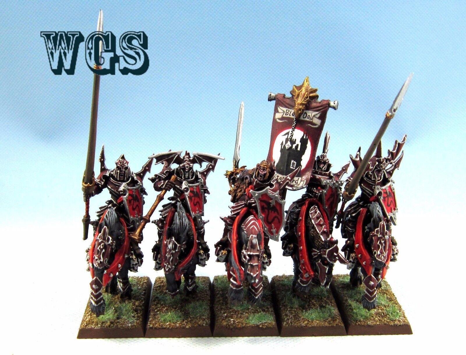 25 mm Warhammer WGS  peint VAMPIRE COUNTS Blood kninghts VC036  10 jours de retour