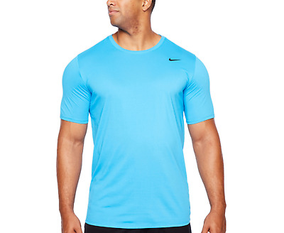 Training 4XL Ice Blue Basketball Nike Men/'s Dri-FIT Short-Sleeve Solid Tee