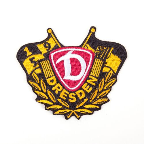 SG Dynamo Dresden Aufnäher Ehrenkranz Aufnäher Patch Label Aufbügler Bügelbild