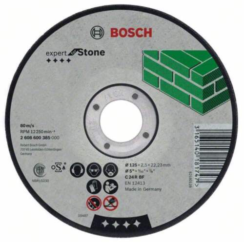 23 BOSCH Trennscheibe gerade Expert for Stone C 24 R BF