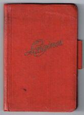 Longines VINTAGE 1932 Notebook Notepad Agenda Calendario SPAGNOLO CHRONO OEM 13zn