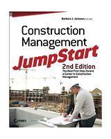 Construction Management Jumpstart: The Best First Step Toward A... Free Shipping