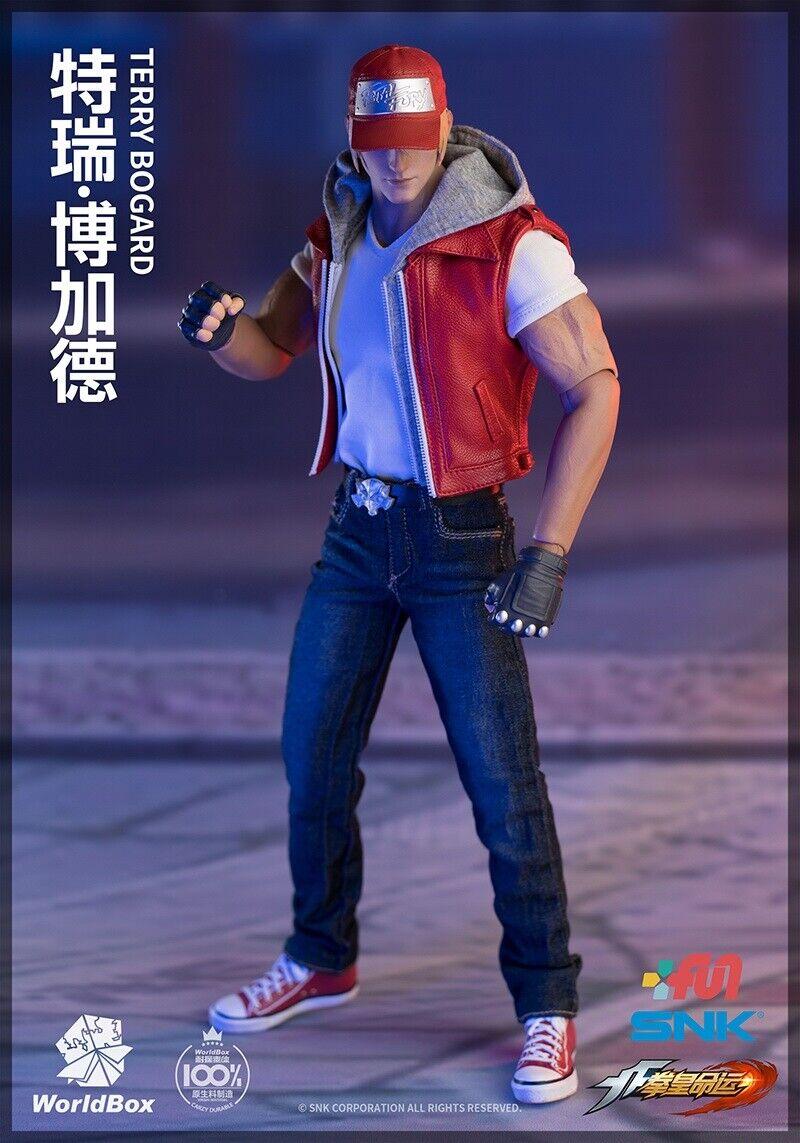 Welt Kiste KF009 Köf die King Of Fighters Terry Bogard W  2 Köpfe 1 6 Figur