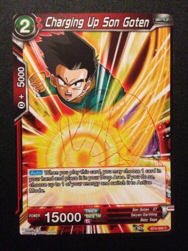 BT4-008 C Charging up Son Goten Dragonball Super