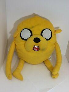 Adventure-Time-Plush-Jake-the-Dog-Stuffed-Animal-Doll-20-Cartoon-Network-D6