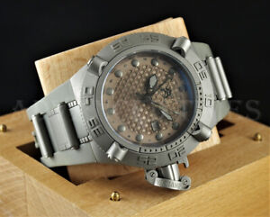 Invicta-50mm-Subaqua-Noma-IV-GMT-Swiss-Made-Gray-500m-Diver-Poly-Watch-1156