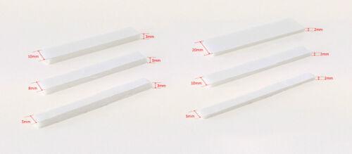 Auto-Adhesivo Blanco Fuerte Doble Cara Espuma Acolchado montaje de cinta adhesiva Craft
