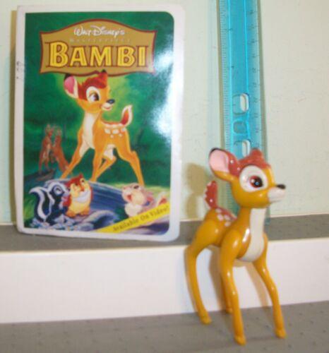 McDonalds 1996 Walt Disney Masterpiece Figure Bambi #1 NEW DEER  4 INCH FIGURE