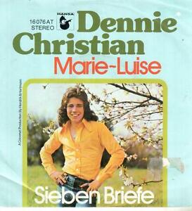 "7"" Single: Dennie Christian - Marie-Luise - Münster, Deutschland - 7"" Single: Dennie Christian - Marie-Luise - Münster, Deutschland"