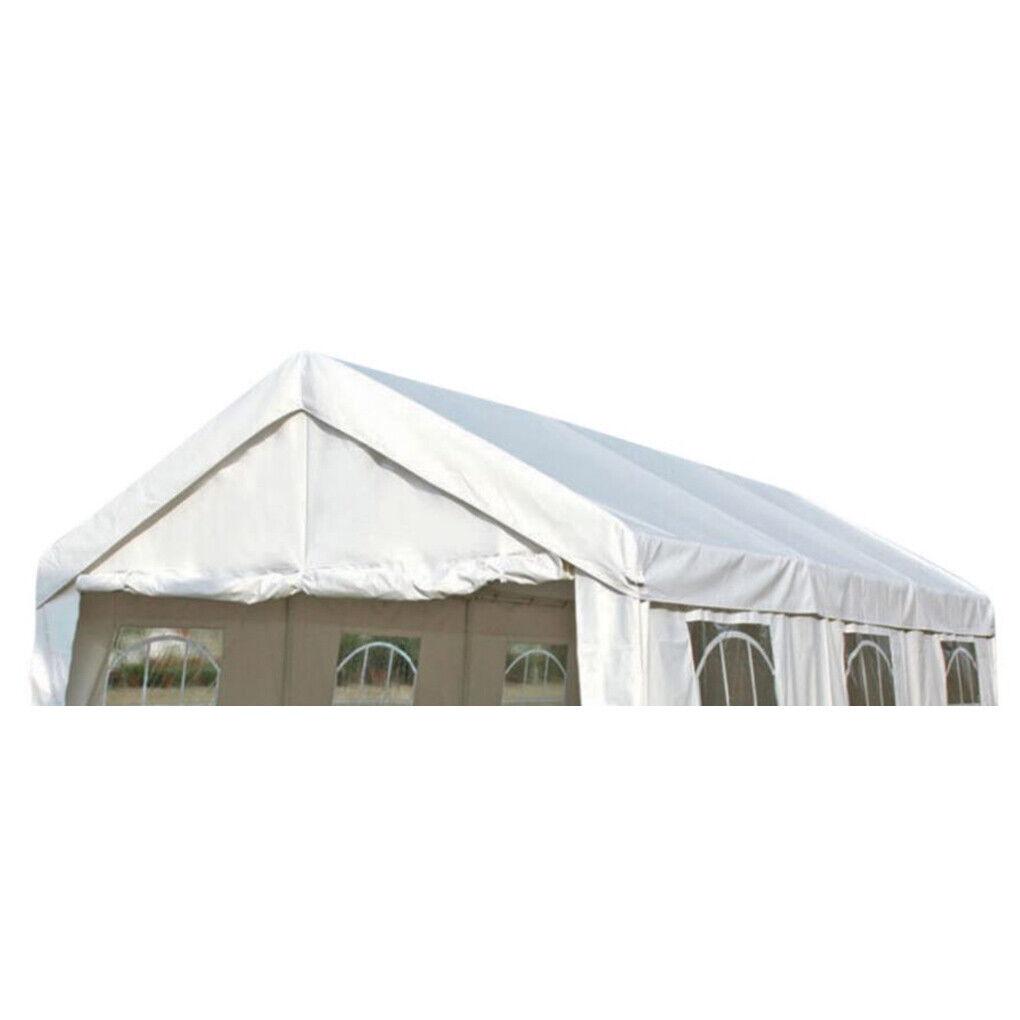 DEGAMO PALMA 3x6m PVC Dachplane für Zelt Weiß