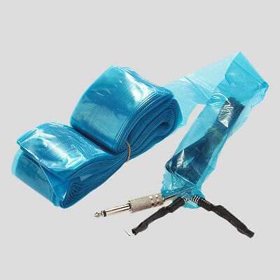 100 Tattoo Machine Supply Clip Cord Sleeves Cover Bags Safety