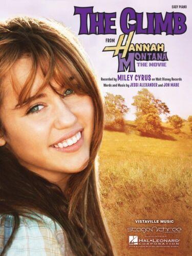 The Climb  Easy Piano Sheet Music Miley Cyrus NEW 000110166