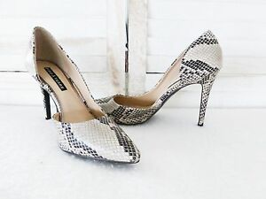 Ladies-039-Pied-a-Terre-039-Snake-Skin-Look-Shoes-Size-9-PL645