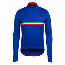 Rapha Cycling Blue Italy Long Sleeve Country Jersey. Size – X-Small. BNWT.