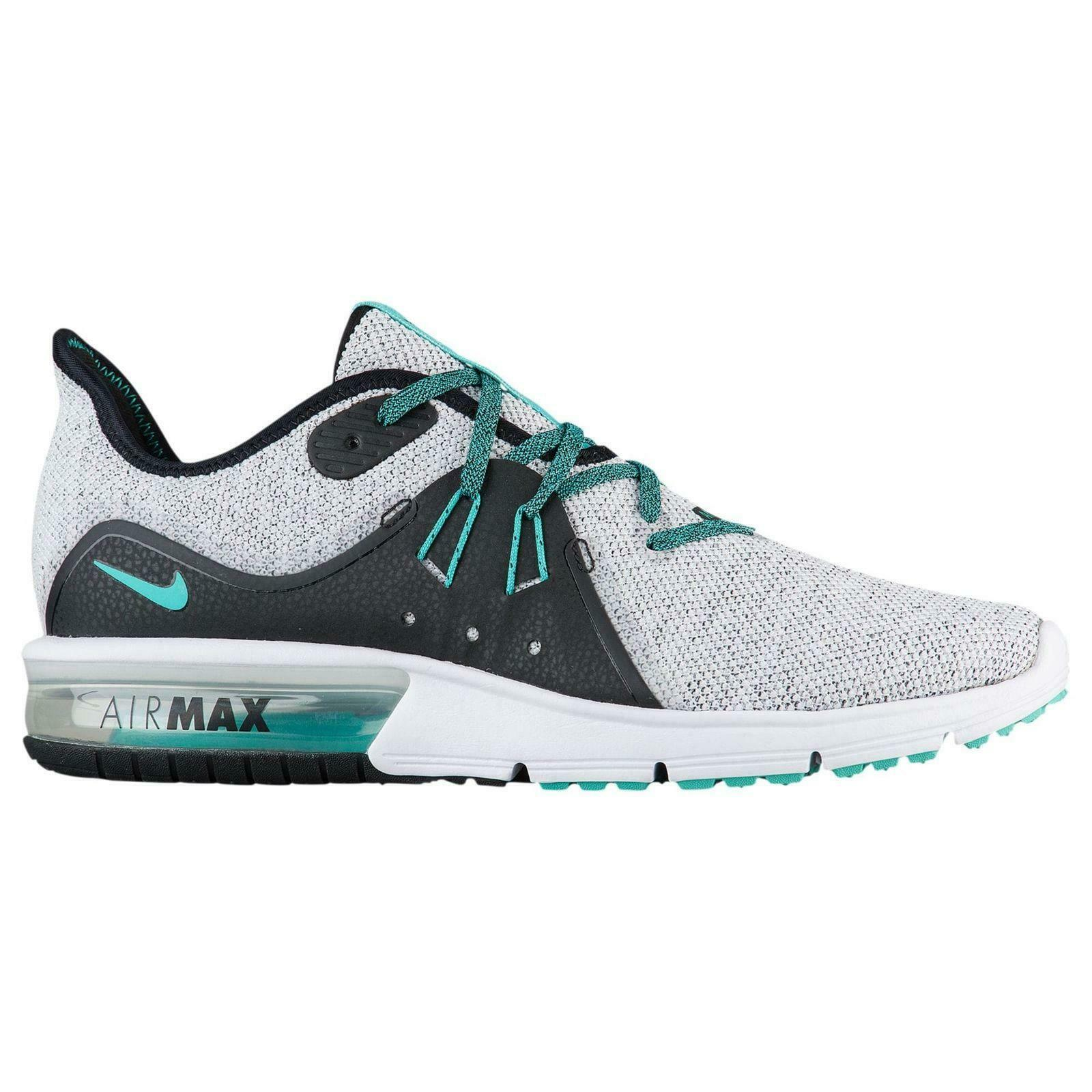Mens NIKE AIR MAX SEQUENT 3 White Trainers 921694 100