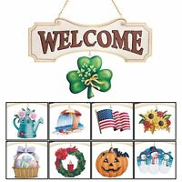 Seasonal Welcome Sign Decoration - 10 Piece Set, By Collections Etc