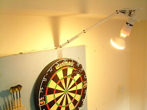 Details about DARTBOARD - POWERFUL SPOT LIGHT KIT, FAST SET UP-HOME / PUB  USE  DARTS LIGHTING: