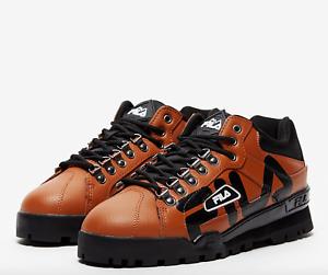 FILA Trailblazer Light Brown Vintage Rave   Hiking Boots 1HM00032 [ALL SIZES]