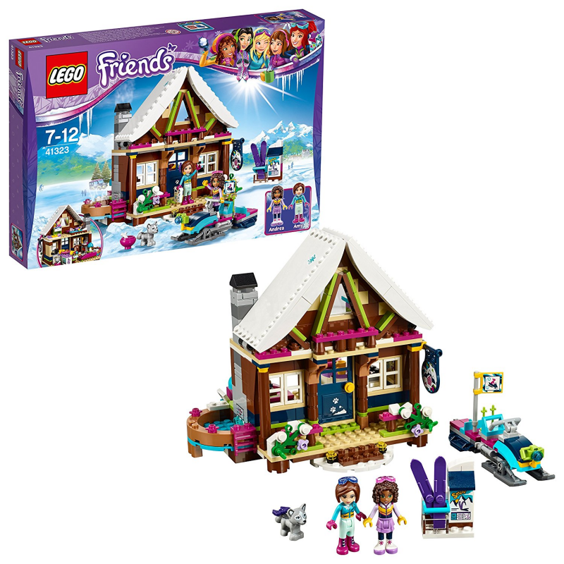 LEGO Friends Snow Resort chalet 41323 BRAND NEW