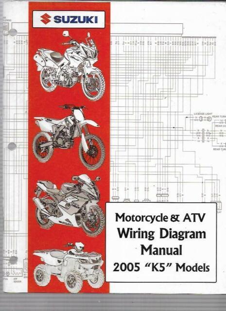 2005 Suzuki  U0026quot K5 U0026quot  Models Motorcycle  U0026 Atv Wiring Diagram