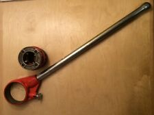 Ridgid Pipe Threader 12 R T2 30118 Ratchet Amp Handle With 1 14 Die