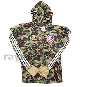 Details about New BAPE x adidas SB Shark Hoodie Extra Small XS A Bathing Ape Genuine DW9286