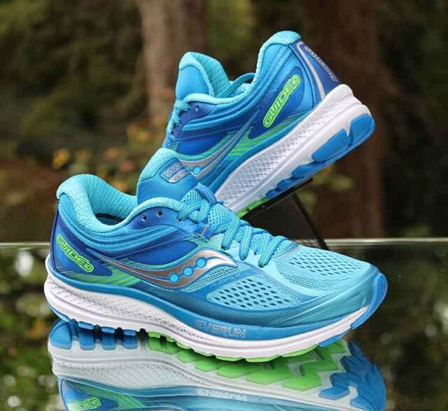 1f262257d3 Saucony S10350 1 Guide 10 Light Blue / Blue Women's Running Shoes 9 US