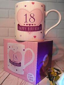 Image Is Loading 18TH BIRTHDAY GIFT PRESENT MUG GIRLS
