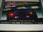 Affiche d'époque Essais 24 Heures du Mans 03/ 05/1998 sport car course auto