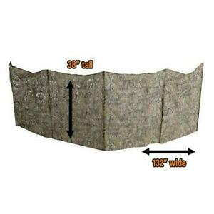 """Hunting Fast Break Ground Blind Compact Lightweight Camouflage Fabric 30"""" X 96"""""""