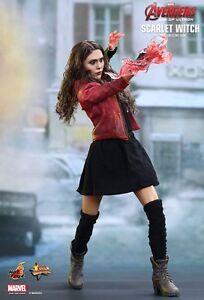 "Filme & Dvds 1/6 12"" Figur Mms301★ ★hot Toys Sideshow Age Of Ultron Avengers Scarlet Witch Aufsteller & Figuren"