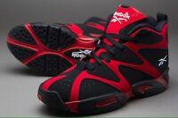 Mens Reebok Kamikaze I Mid V60364mens Basketball Shoes Red / Black Size 11.5