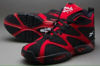 Mens Reebok Kamikaze I Mid V60364mens Basketball Shoes Red / Black Size 11.5