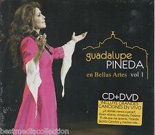 Guadalupe Pineda CD NEW En Bellas Artes Vol 1 ALBUM En Vivo CD + DVD SEALED