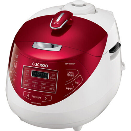6 Cups CUCKOO Induction Heating Pressure Rice Cooker CRP-HPF0660SR