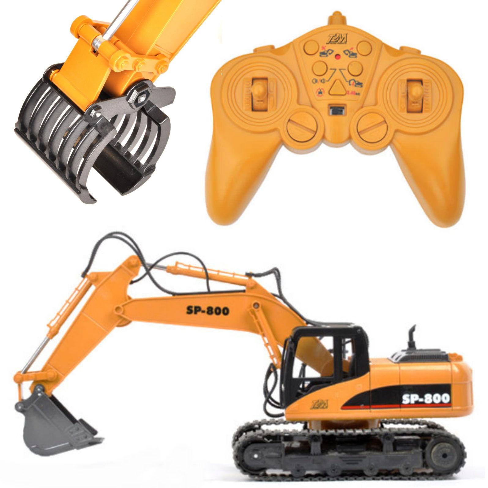 T2M T800 +  T800 01 RC Escavatore 1-14 SP-800 Rtr con Pala di Mettuttio e Pinza in  punto vendita