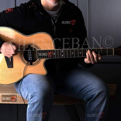 Silenceban™ portable Acoustic Guitar Pickup