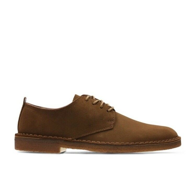 Clarks Homme Chaussures Desert London Cola En Daim Taille UK 9.5 Coupe G